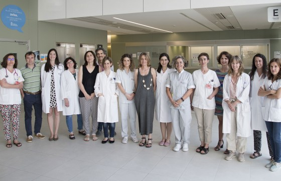 Research team of the project led by Maite Mendioroz Iriarte and Ivonne Jericó Pascual